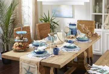 Stunning Beach Themed Dining Room Design Ideas 39
