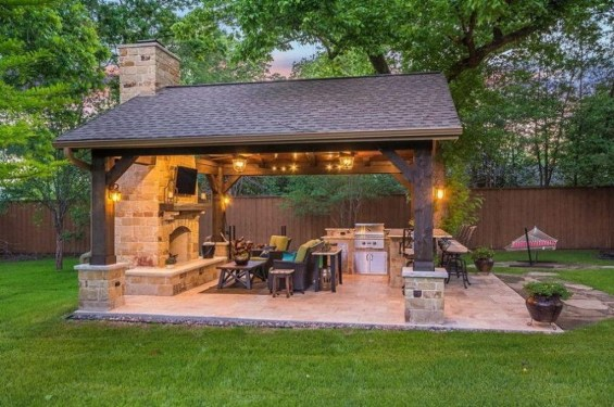 Awesome Outdoor Kitchen Design Ideas 17