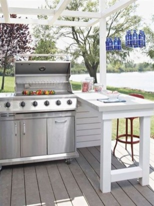 Awesome Outdoor Kitchen Design Ideas 34