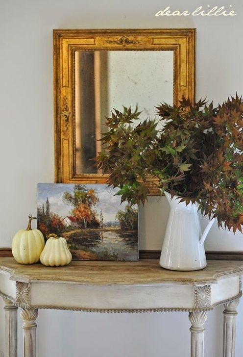 Stylish Console Table For Halloween Ideas 23