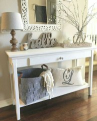 Stylish Console Table For Halloween Ideas 36