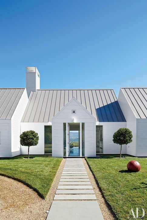 Brilliant Modern Farmhouse Exterior Design Ideas45