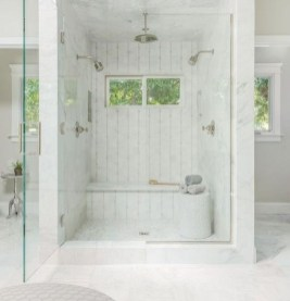 Elegant Farmhouse Shower Tiles Design Ideas12