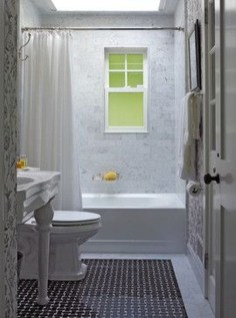 Elegant Farmhouse Shower Tiles Design Ideas36