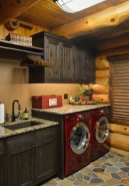 Popular Farmhouse Laundry Room Decorating Ideas10