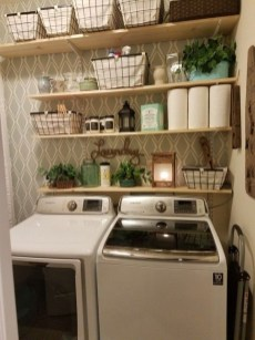 Popular Farmhouse Laundry Room Decorating Ideas22