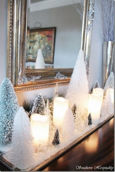 Popular White Christmas Design And Decor Ideas08