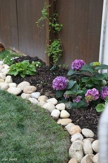 Pretty Front Yard Rock Garden And Landscaping Ideas21