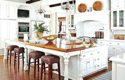 Popular French Country Kitchen Decoration Ideas For Home02