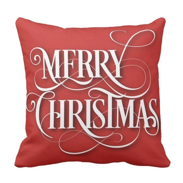 Stunning Red Christmas Pillow Design Ideas01