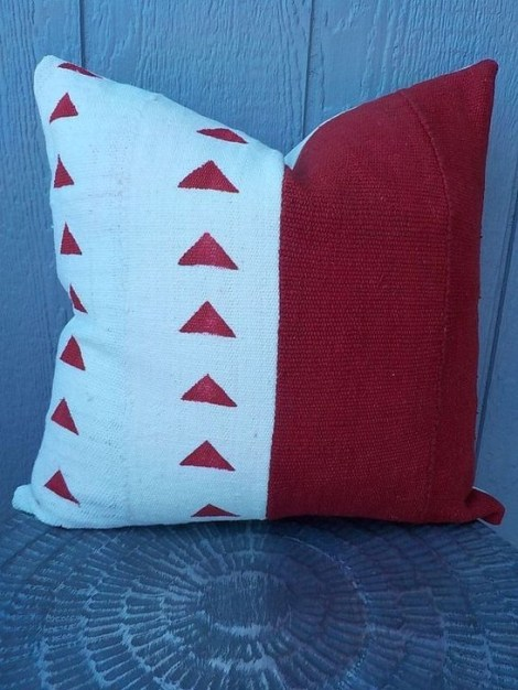 Stunning Red Christmas Pillow Design Ideas30