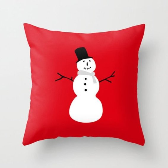 Stunning Red Christmas Pillow Design Ideas39
