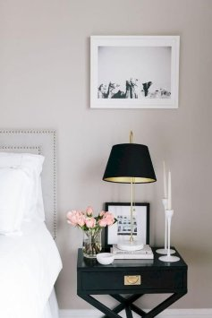 Stunning White Black Bedroom Decoration Ideas For Romantic Couples45