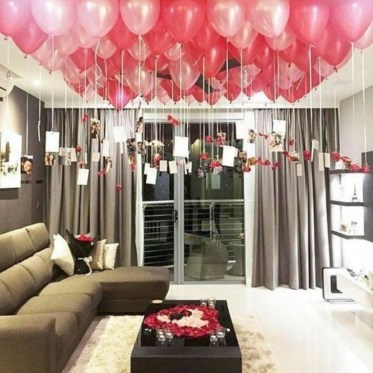 Amazing Apartment Decoration Ideas For Valentines Day12