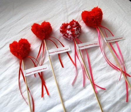 Cheap Diy Ornaments Ideas For Valentines Day17