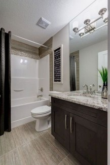 Elegant Bathroom Cabinet Remodel Ideas40