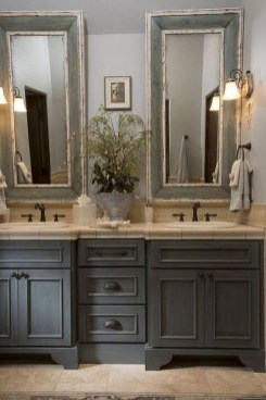 Elegant Bathroom Cabinet Remodel Ideas43