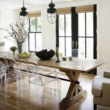 Cute Farmhouse Dining Room Table Ideas06