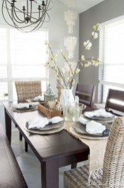 Cute Farmhouse Dining Room Table Ideas16