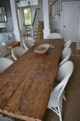 Cute Farmhouse Dining Room Table Ideas22