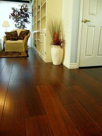 Amazing Dark Hardwood Floors Ideas For Living Room37