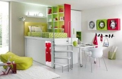 Cheap Space Saving Design Ideas For Kids Rooms 02