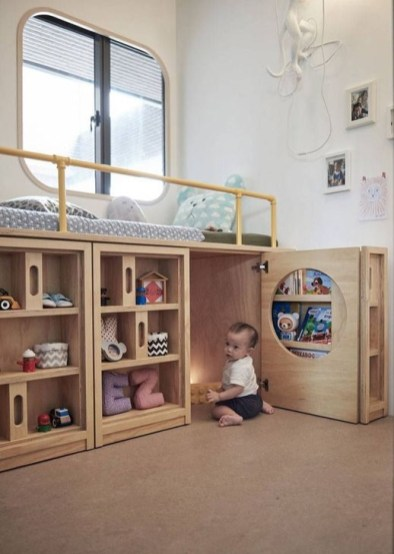 Cheap Space Saving Design Ideas For Kids Rooms 26