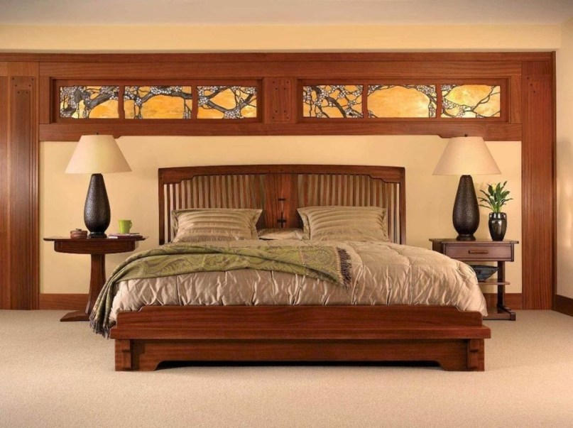 Elegant Platform Bed Design Ideas05