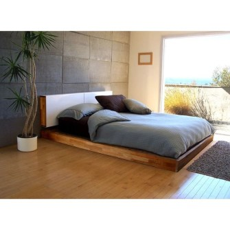 Elegant Platform Bed Design Ideas12