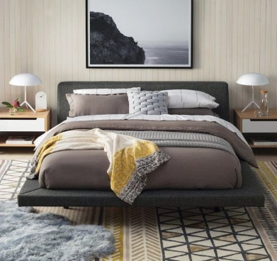 Elegant Platform Bed Design Ideas22