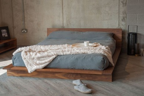 Elegant Platform Bed Design Ideas32