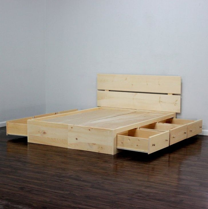 Elegant Platform Bed Design Ideas42