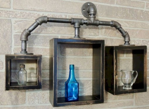 Inexpensive Diy Pipe Shelves Ideas On A Budget08