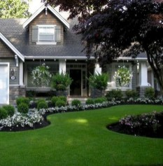 Relaxing Front Sidewalk Landscaping Ideas19