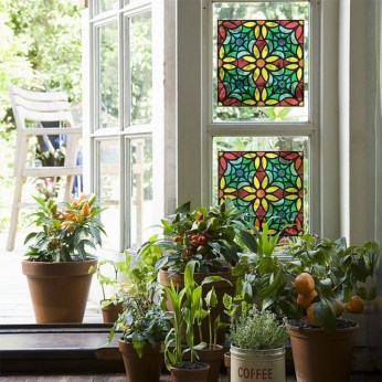 Comfy Stained Glass Window Design Ideas For Home 06