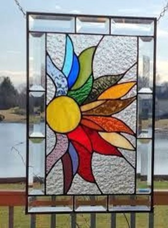 Comfy Stained Glass Window Design Ideas For Home 22
