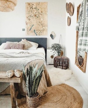 Smart Diy Bohemian Bedroom Decor Ideas 26