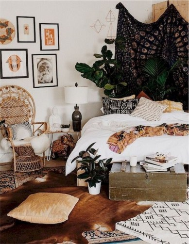Smart Diy Bohemian Bedroom Decor Ideas 44