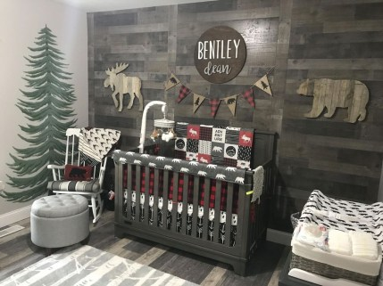 Modern Baby Room Themes Design Ideas 42