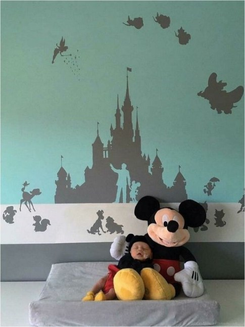 Perfect Disney Room Ideas For Children 31