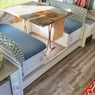 Splendid Rv Camper Remodel Ideas 32