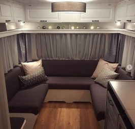 Splendid Rv Camper Remodel Ideas 35