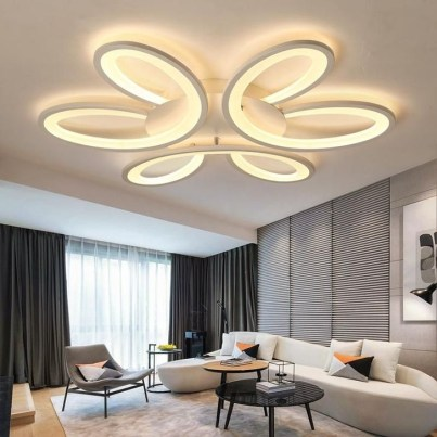 Cool Ceilings Lighting Design Ideas For Living Room To Try 43