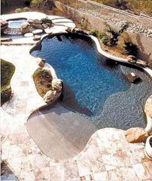 Creative Swimming Pools Design Ideas For Your Yard 31