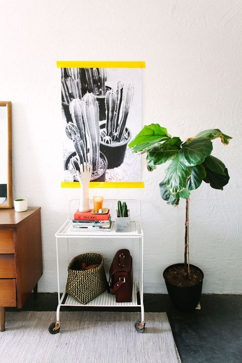 Fascinating Diy Wood And Leather Trellis Plant Ideas For Wall To Try 35