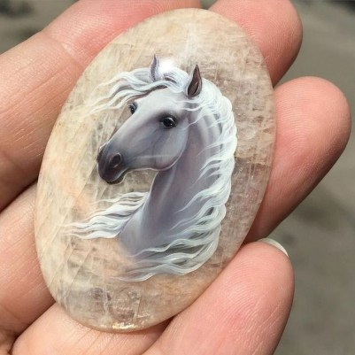 Marvelous Diy Projects Painted Rocks Animals Horse Ideas For Summer 03