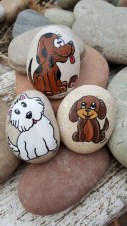 Splendid Diy Projects Painted Rocks Animals Dogs Ideas For Summer 39