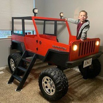 Astonishing Car Bed Designs Ideas That Every Kids Must See 47