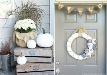 Extraordinary Fall Porch Ideas That Will Be Surely Comfortable 05
