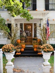 Extraordinary Fall Porch Ideas That Will Be Surely Comfortable 15